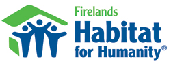 Firelands Habitat for Humanity Logo